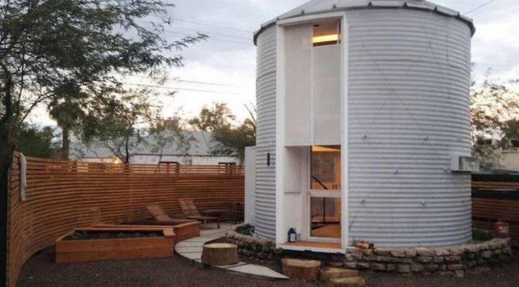 Amazing Tiny House Built Inside a Grain Silo (11 Photos) - Suburban Men - February 27, 2017