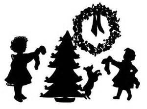 CHRISTMAS Silhouettes - Bing Images