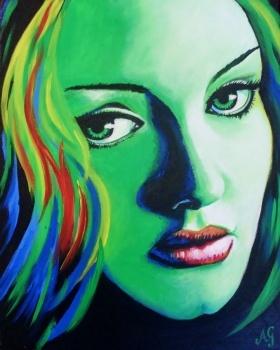 Adele - Rumour    Artist: Gardner, Anne  Artwork title: Acrylic
