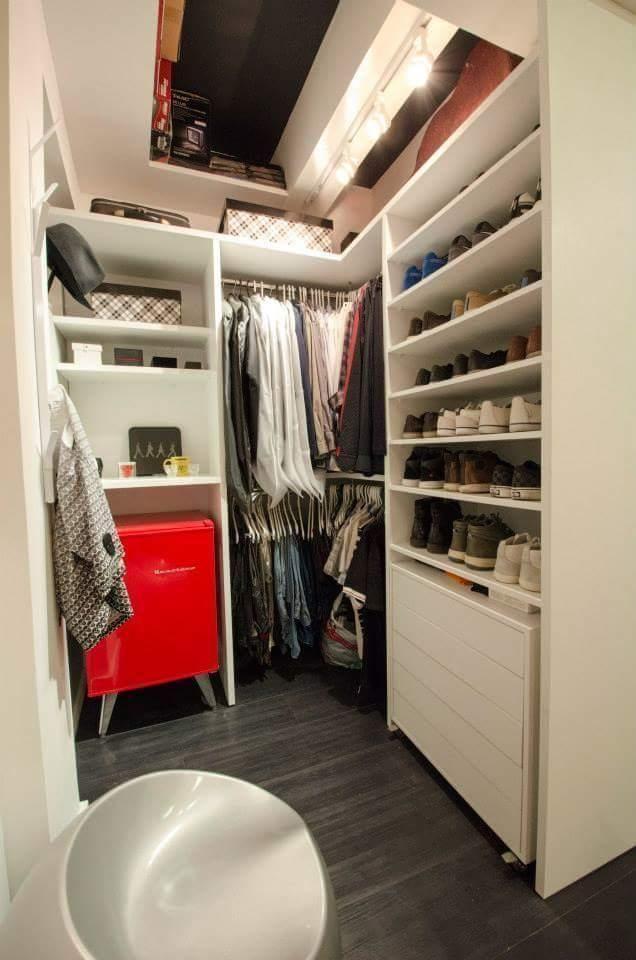 25 melhores ideias de closet pequeno no pinterest for Ideas para closets pequenos