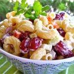 Elbow Macaroni and Kidney Bean Salad