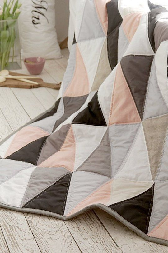 When you think of a quilt, you may think of something a little old-fashioned and antiquey. But lately a handful of modern makers have been re-inventing the quilt for a new generation.