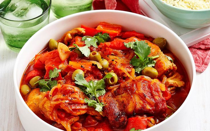 Feed the family this Spanish chicken and capsicum casserole for dinner tonight - wholesome, warming, and full of delicious authentic flavour!