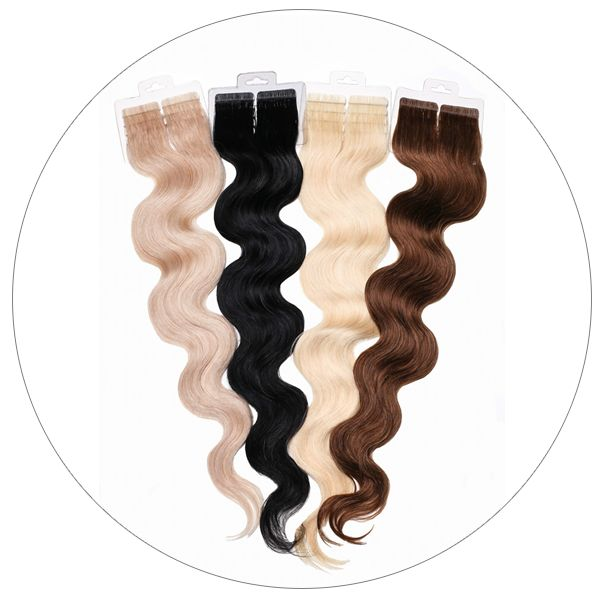 Learn More About Our Semi Permanent Hair Extensions And Shop Different Colors Like Blonde