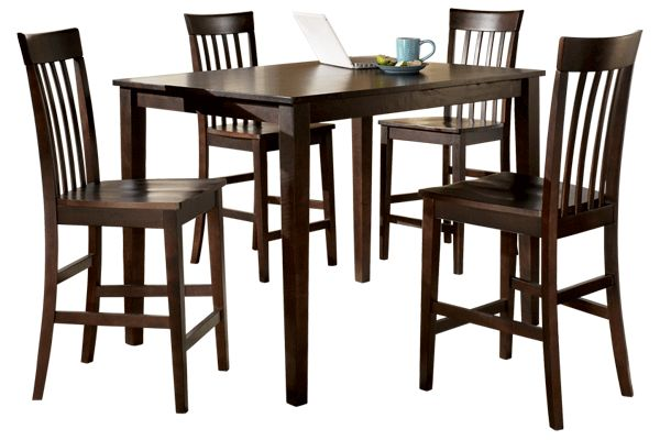 Dark Wood Finish Modern Dining Room W Optional Items: 1000+ Images About Ashley Furniture Dining On Pinterest