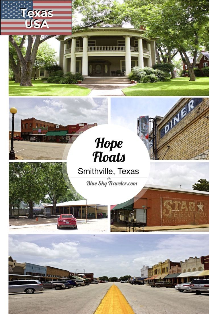 Visit Smithville Texas - Read more about this small Texas railroad town and filming location of Hope Floats and Tree of Life