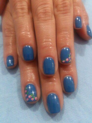 Un azul hermoso