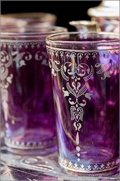 Morocan Tea Glasses