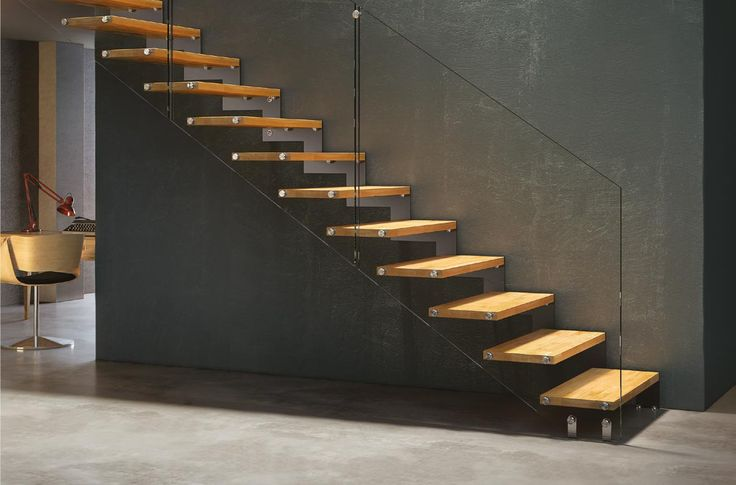 Image result for cantilever stairs