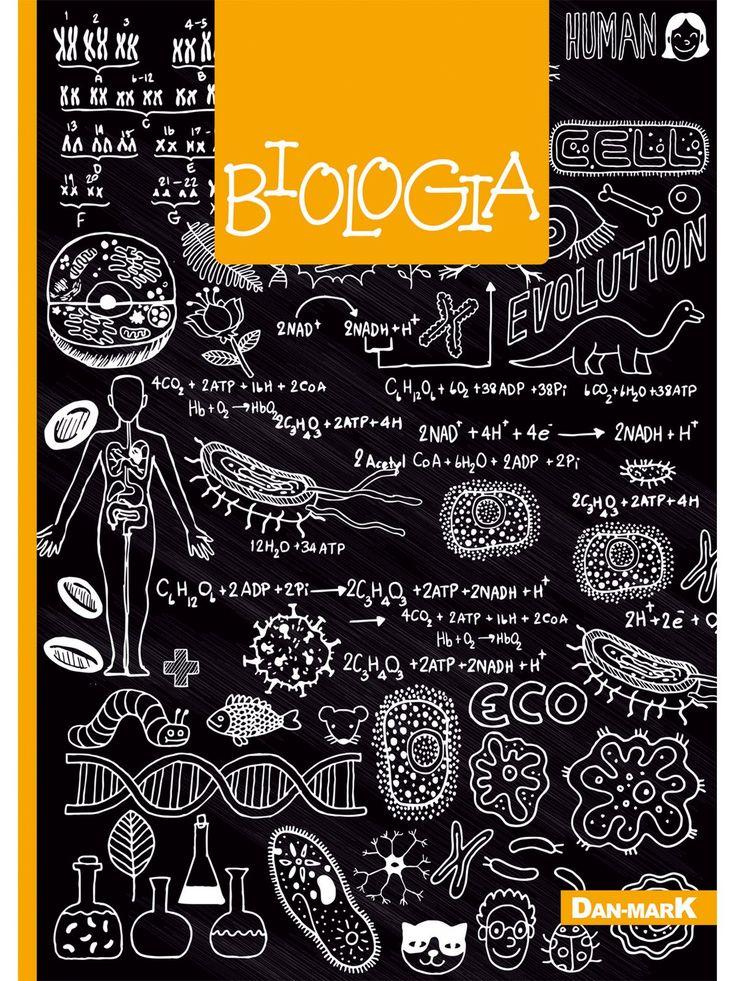 Zeszyt w kratkę, BIOLOGIA format A5, 80 kartek - 1106023KLFOA5 - art. szkolne - txm