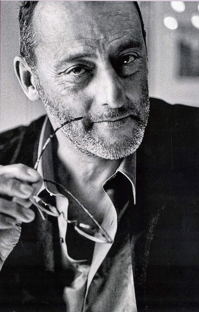 Jean Reno, class clown, bad guy, good guy, worlds best dad and just the most awesome person you will ever meet.