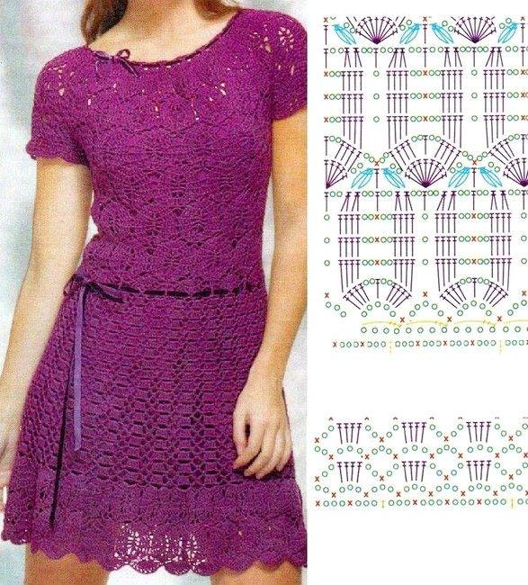 robes crochet (15)                                                                                                                                                     Plus