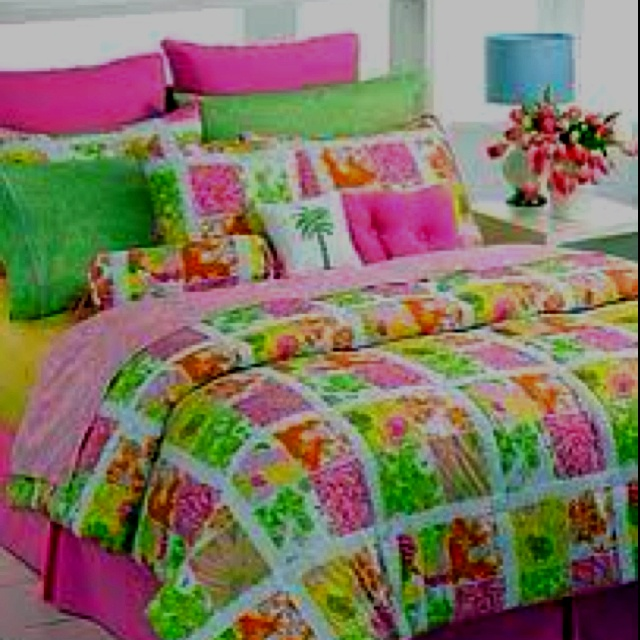 Lilly Pulitzer Bed Spread Yesyesyesyesss Dream Dorm
