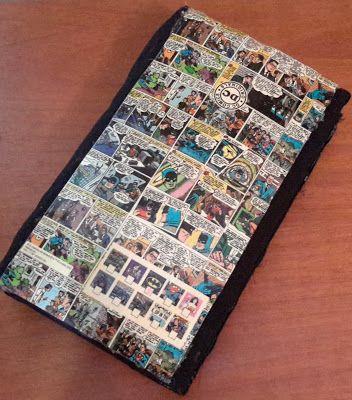 DIY estojo com capa de fita VHS para lápis de 48 cores - A Vida Com Brilho