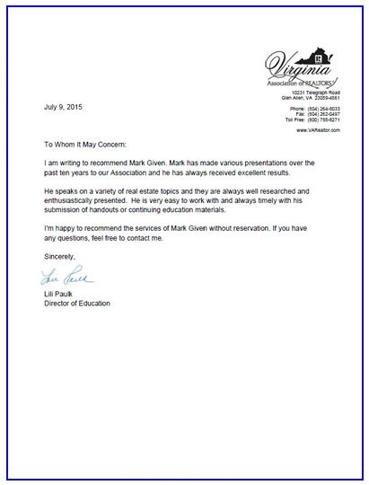 professional reference letter format sle standard Cute Pinterest - professional reference