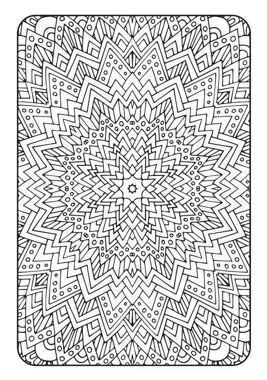 Adult coloring book art therapy volume 3 by for Therapeutic coloring pages for children