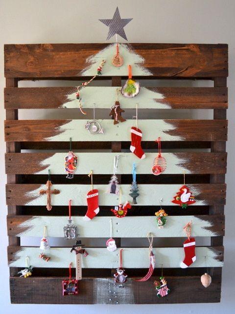 DIY Pallet Christmas Tree -Refurbished Ideas