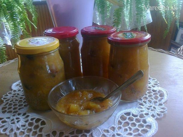 Ananásovo-jablkovo-banánovo-orieškový džem alebo inak Vianočný džem II.