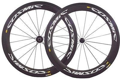 Wheels and Wheelsets 177830: New 2015 Mavic Cosmic Carbone Sle Clincher Front Rear Wheel Set W Tires -> BUY IT NOW ONLY: $1295 on eBay!