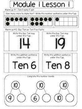 Eureka Math Interactive Notebook: Grade 2 Module 1
