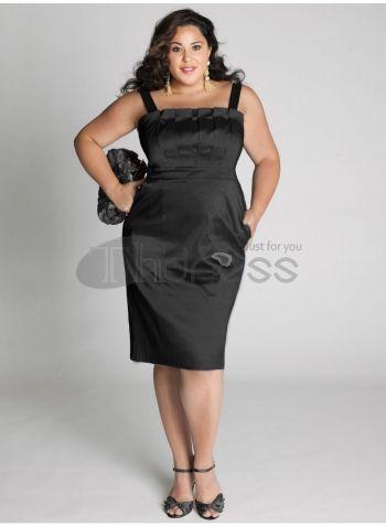 Plus Size Evening Dresses-plus size evening dress Cybelle Cocktail Dress in Black