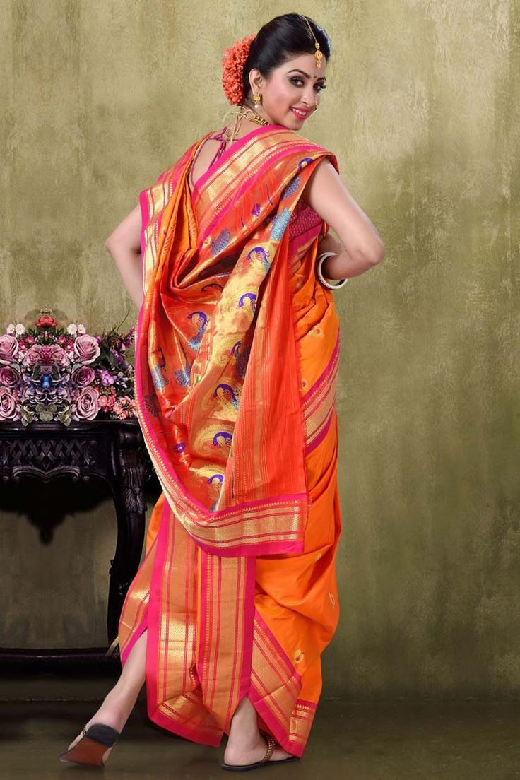 Nine Yard Paithani Nauvari Saree