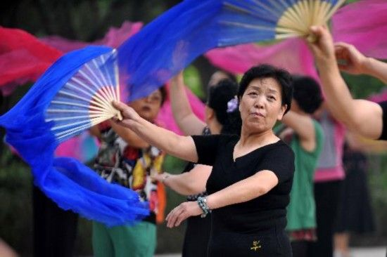 Eldely With No Fan : Images about china morning in the park on pinterest