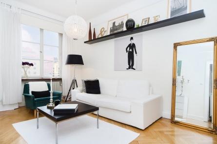 Folkungagatan 136 A, 5 tr, Södermalm, Stockholm  1:a · 30 m2 · 1 760 kr · Accepterat pris: 1 950 000 kr