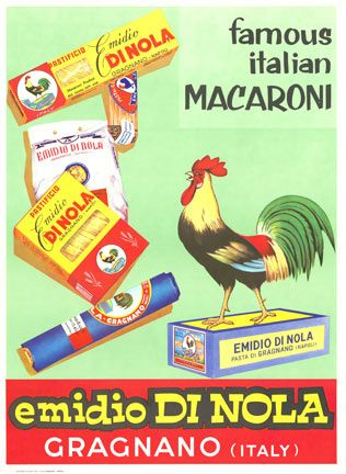 Vintage Italian Posters ~  Emidio di Nola, Anonymous Artists