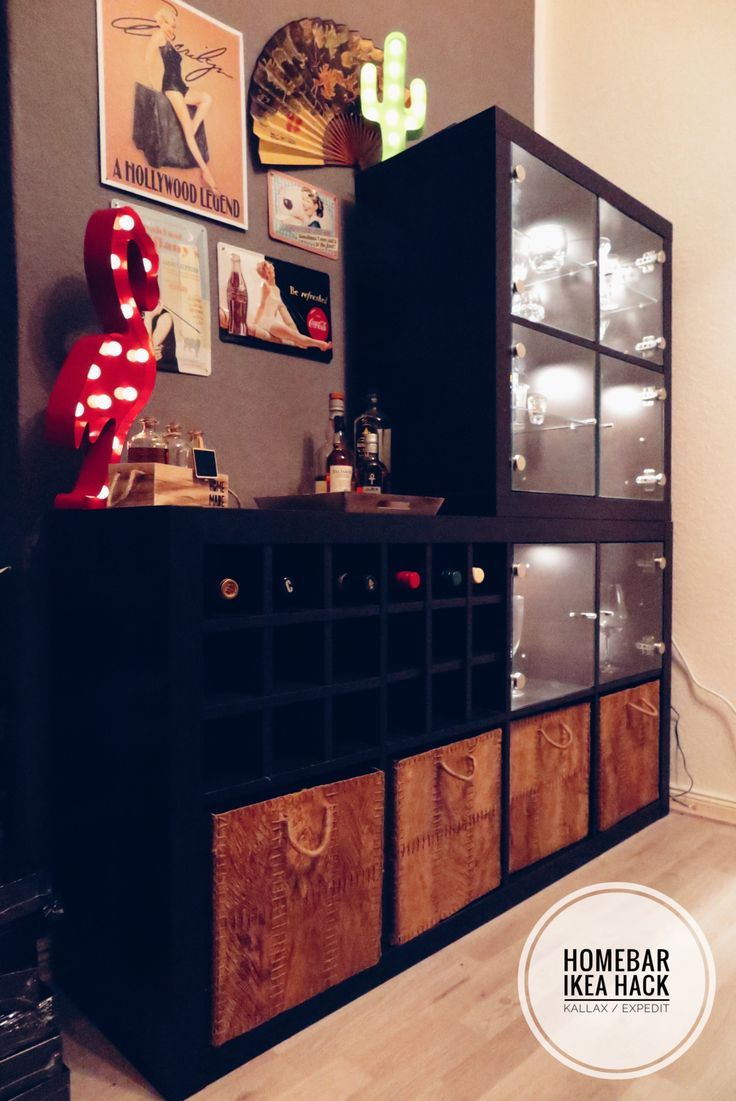 HOME Tutorial // Homebar – Ikea Hack