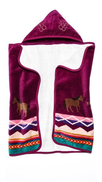Pendleton, The Portland Collection Painted Pony Kids Hooded Towel 48