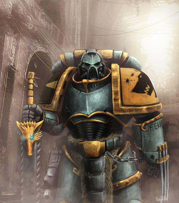 General Warhammer 40k Space Marines: Lupus Astarte By StoryKillinger.deviantart.com On