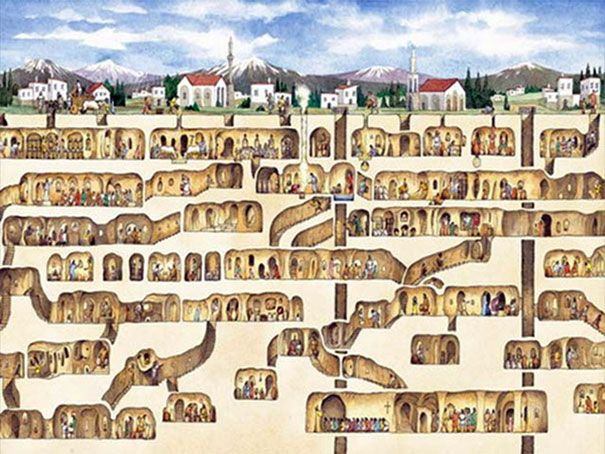 Um homem quer reformar sua casa e descobre que 20 mil pessoas viviam atrás de uma parede no seu porão.