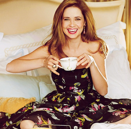 Jenna Fischer. Such a doll.