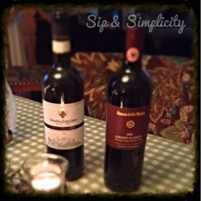 Sip and Simplify: Date Night Chianti