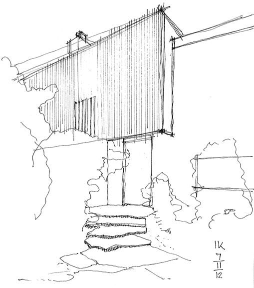 Less is more....... Sketch by Alvar Aalto