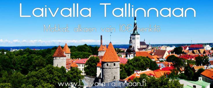 Varaa edullisimmat laivamatkat Tallinnaan täältä! Vertaa risteilyt, hotellimatkat sekä kylpylälomat Tallinnaan kaikki vain yhdellä sivustolla. Katso täältä!   http://www.laivallatallinnaan.fi/