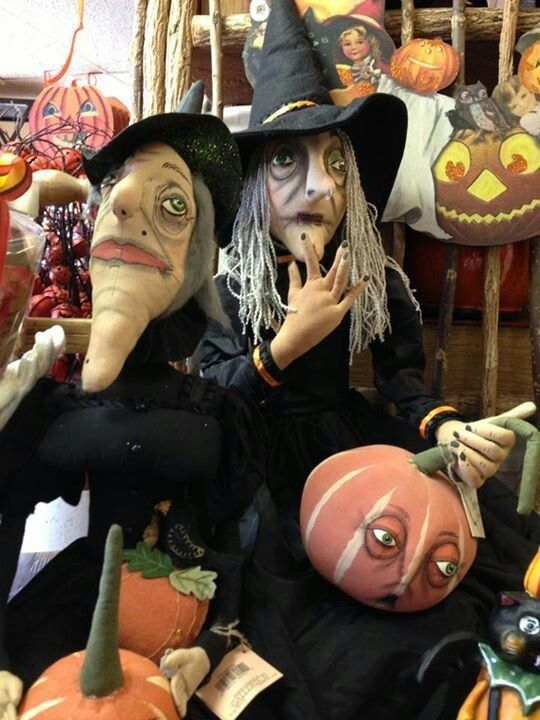 in the dark they could look like real witches - How To Look Like A Witch For Halloween