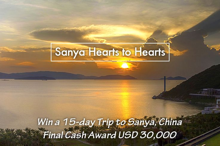 """Want a 15-day #FreeTrip to #Sanya, #China? Even $30,000? Join our #SanyaHeartstoHearts #campaign!  ONLY 2 steps to see the #beautiful sunset at Sanya:  1. Comment """"I want to join #SanyaHeartstoHearts""""below to enroll and be lucky for a #gift.  2. Two clicks to issue your invitation post: https://app.gotrips.net/#goto2 and compete for the final big prize. Learn more https://www.facebook.com/Sanya.China/app/572110882950571/ #SanyaH2HRecruitment"""