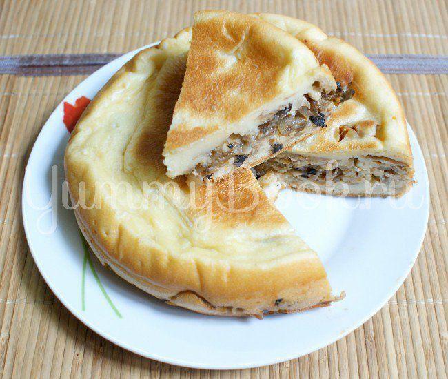Пирог с капустой и грибами в мультиварке - пошаговый рецепт с фото