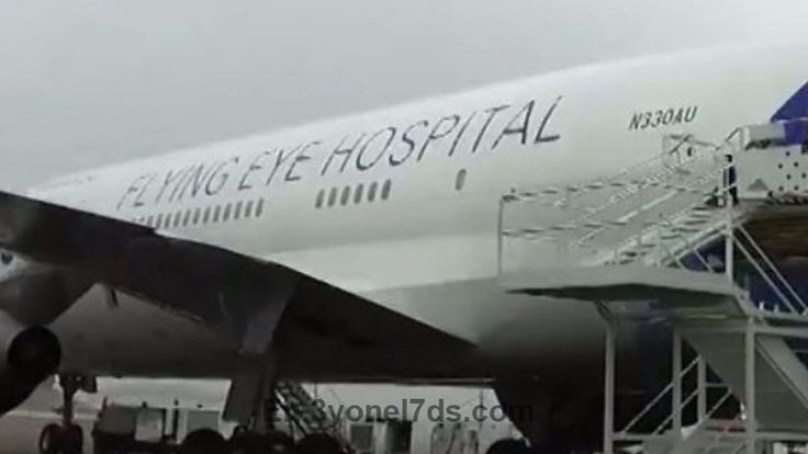 Flying Eye Hospital jumbo jet on show at Stansted Airport  An eye hospital on board a jumbo jet makes its first visit to the UK....  https://en.3yonel7ds.com/Technology/19823/Flying-Eye-Hospital-jumbo-jet-on-show-at-Stansted-Airport.html