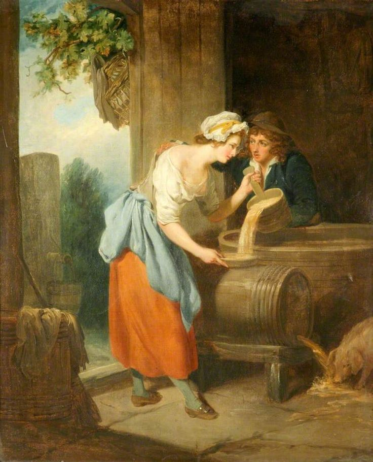 """""""The Careless Servant"""", Francis Wheatley, ca. 1793; National Museums Liverpool WAG 1625"""