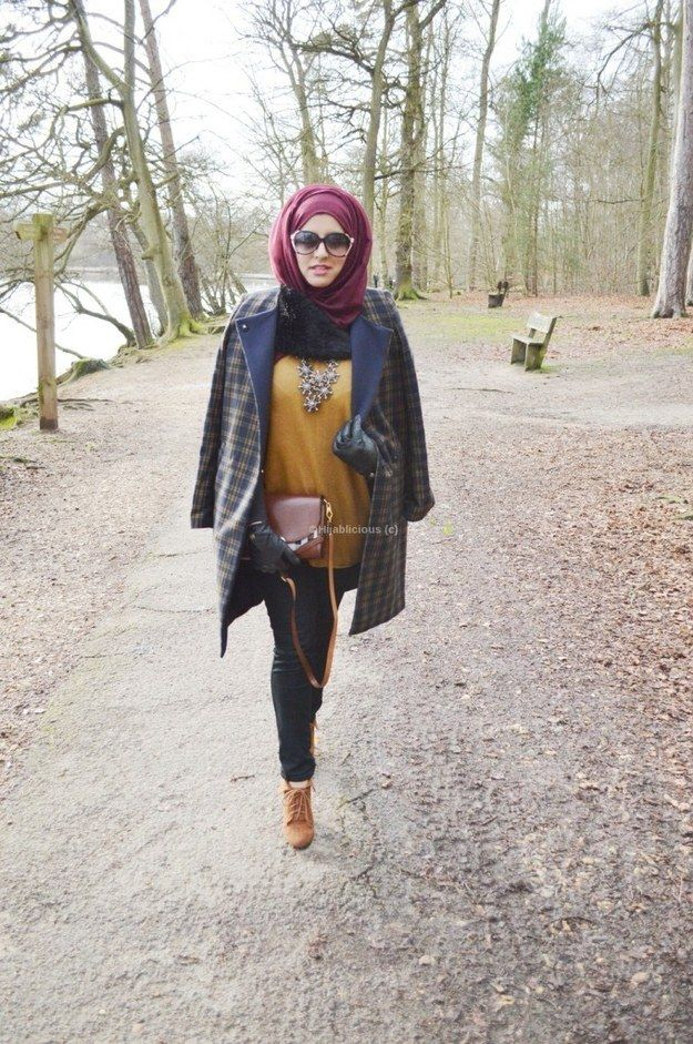 Use a hijab to play with seasonality.