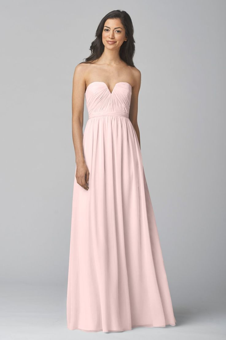 Wtoo Bridesmaid Dress 907 In Crystal Chiffon At Weddington Way Find The Perfect