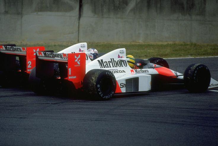 """Alain Prost: """"La diferencia entre Ayrton y yo es que yo creo en Dios y él se cree Dios"""""""