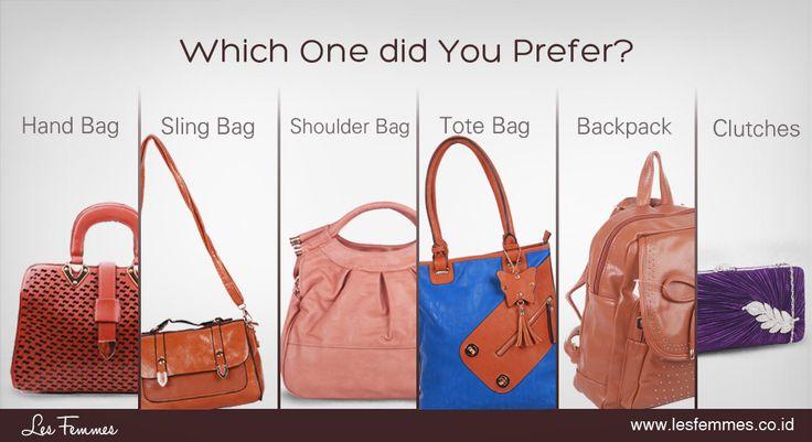 ladies, kalo kamu lebih suka model tas apa? kunjungi web lesfemmes yuk di www.lesfemmes.co.id dan untuk mau cari tau lebih banyak bisa baca blog lesfemmes di http://blog.lesfemmes.co.id/
