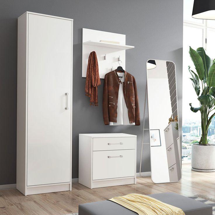 Garderobe Herbst Warme Kleidung Kleiderschrank Vorraum Haus
