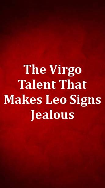 signs of jelousy