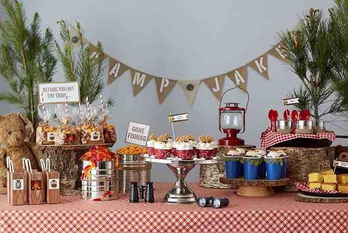 Piscolabis decor pinterest for Indoor birthday decoration ideas
