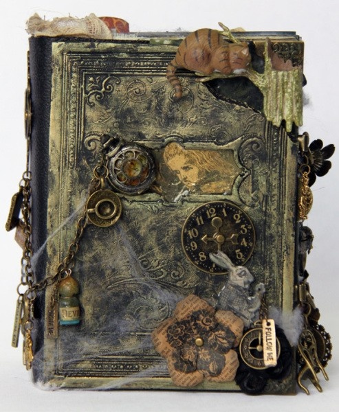 Alice In Wonderland Book Report Ideas : Best images about altered books on pinterest mini